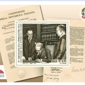 70° anniversario della nostra Costituzione