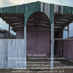 Brindisi e Cerano negli anni '70 e il sublime dilettante Tarantini.