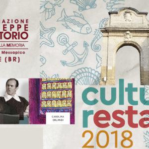 Proseguono le iniziative di #CulturaEstate2018 dell'Associazione Di Vittorio Mesagne.