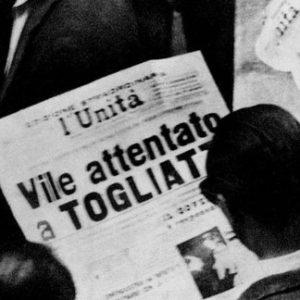 """14-15-16 luglio 1948 – Settanta anni fa…    Tra la vittoria di Gino Bartali, l'attentato a Palmiro Togliatti e la """"rottura""""   della CGIL di Cosimo Zullo"""