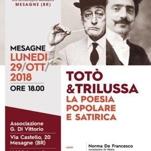 SULL'OPERA DI TOTO' E TRILUSSA del prof. Mimmo Tardio
