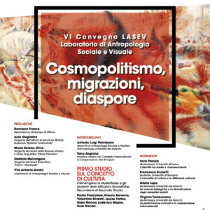 COSMOPOLITISMO – MIGRAZIONI – DIASPORE.