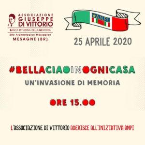 25 APRILE 2020: FESTA DELLA LIBERAZIONE (Comunicato stampa).