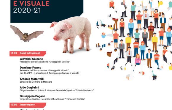 29 SETTEMBRE 2020 ORE 18,30 INVITO – Presentazione dell, VIII LABORATORIO LASEV 2020 2021