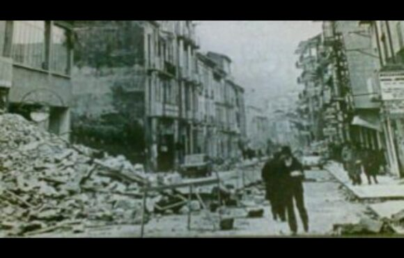 Quei giorni del terremoto del 23 novembre 1980.
