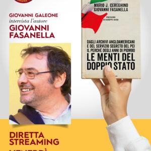 LE MENTI DEL DOPPIO STATO un libro di Giovanni Fasanella e Mario J. Cereghino.