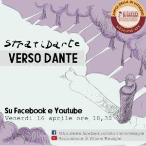"""""""VERSO DANTE"""" un evento di StratiDarte per Amici della Di Vittorio – Mesagne."""