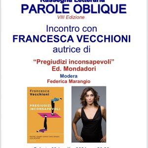 Francesca Vecchioni e Antonio Caprarica a Mesagne per presentare gli ultimi libri.